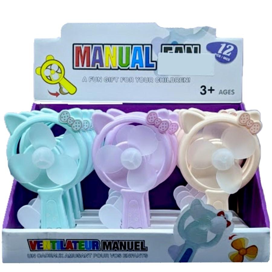 MANUAL FAN #90126 KITTY DISPLAY FOR KIDS