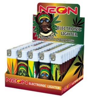 NEON ELECTRONIC TATTO LIGHTERS
