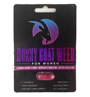 X PILLS - HORNEY GOAT WEED #000 FOR WOMEN
