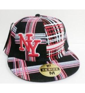 SPORT CAP #98 NY /FLAT BILL