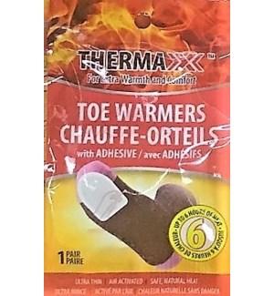 TX #19001 TOE  WARMERS 1-PAIR