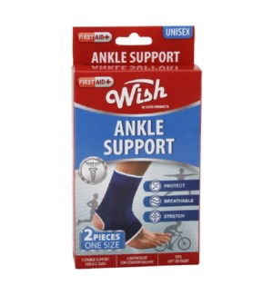 WISH ANKLE SUPPORT #23079 UNISEX