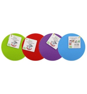 IDEAL KITCHEN SILICONE #38100 PLACEMAT &HOLDER