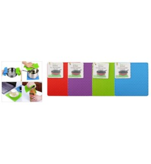 IDEAL KITCHEN SILICONE #38101 PLACEMAT & HOLD