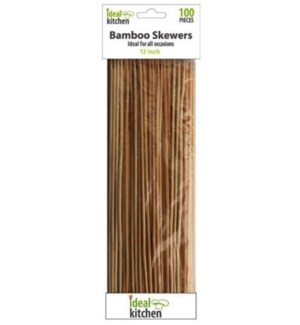 BAMBOO SKEWERS #39001 IDEAL KITCHEN