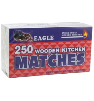 MY #43000 MATCHES WOODEN FLAMES