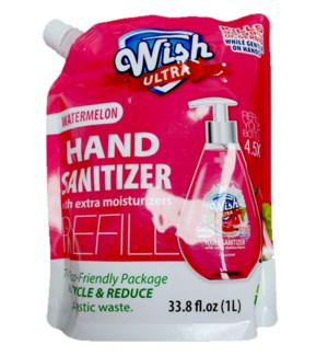 WISH ULTRA #60262 WATERMELON HAND SANITIZER