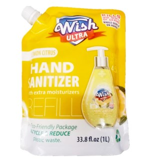 WISH ULTRA #60263 LEMON CITRUS HAND SANITIZER
