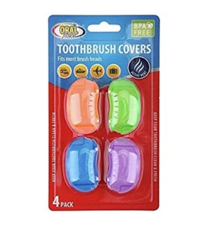 ORAL FUSION TOOTHBRUSH #68050 HEAD COVERS