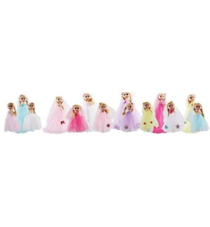 KEYCHAIN #84023 PRINCESS DOLL