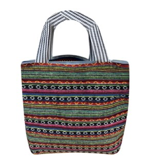 MY SALE ZIPPER BAG #91104 STRIPES