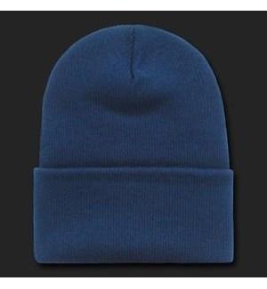 BEANIE HAT - NAVY BLUE