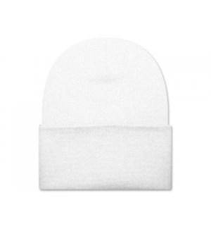 BEANIE HAT - WHITE