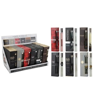 MENS PERFUME #88101 LUXURY COLLECTION DISPLAY