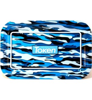 TOKEN - BLUE PAPER ROLLING TRAY