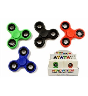 FIDGET SPINNER, REGULAR ASST COLORS
