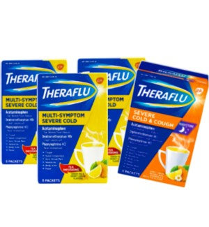 THERAFLUE SEVERE COLD & COUGH, MULTI SYMPTOM