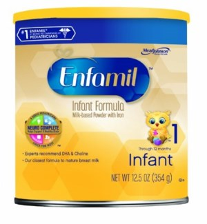 ENFAMIL #1740-04 PREMIUM POWDER, YELLOW