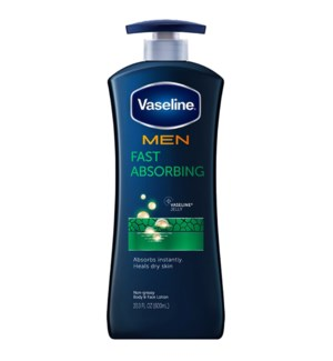 VASELINE LOTION #4081 FAST ABSORBING W/PUMP