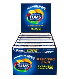 TUMS #0739-20 ASST FRUIT EXTRA