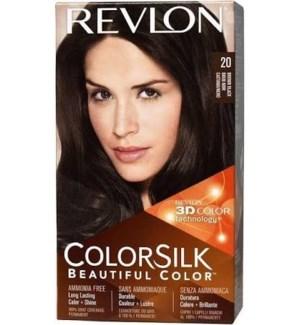 REVLON #20 BROWN BLACK HAIR COLOR