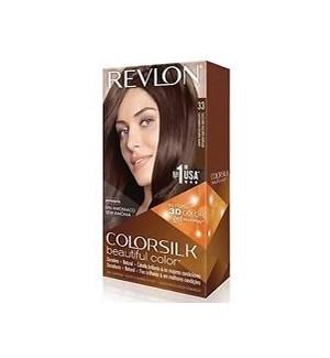 REVLON #33 DARK SOFT BROWN HAIR COLOR