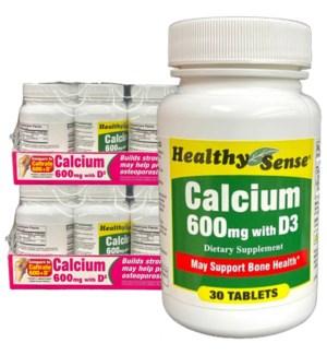 H.S VIT #20 CALCIUM (600MG)