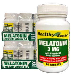 H.S VIT #10 MELATONIN 3MG