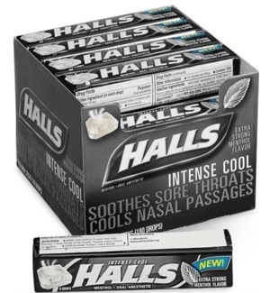 HALLS IN BOX #00091 EXTRA STRONG MENTHOL FLAVER