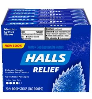 HALLS IN BOX #05082 MENTHOL