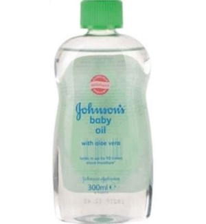 JOHNSON'S BABY OIL #0400 ALOE VERA