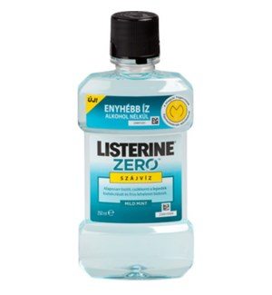 LISTERINE ZERO COOL MINT MOUTH WASH
