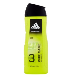 ADIDAS SHOWER GEL #18038 PURE GAME 3IN1