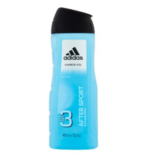 ADIDAS SHOWER GEL #72108 AFTER SPORT HYDRATING 3IN