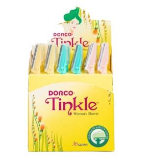 TINKLE #GTIN01C EYEBROW RAZORS