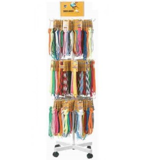 SHOE LACES DISPLAY #JNDIS60A