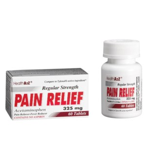 MED #14 RS PAIN RELIEF 325MG