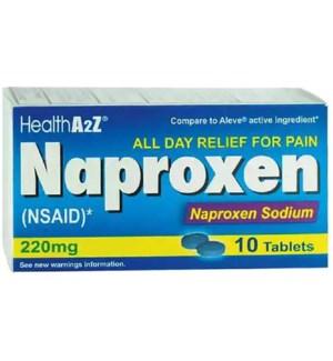 MED #73 NAPROXEN CAPLETS