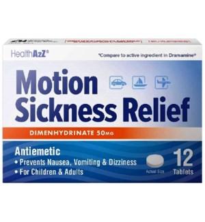 MED #370 MOTION SICKNESS REL 50MG