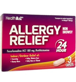 MED #80 ALLERGY RELIEF 180MG/24HOURS