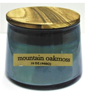 CANDLE #117838 MOUNTAIN OAKMOSS 2WICK CA