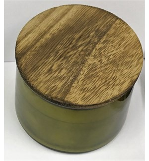 CANDLE #117840 SMOKED BOURBON 2WICK CAND