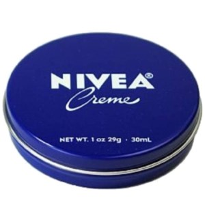 NIVEA CREAM TIN JAR #NC30R