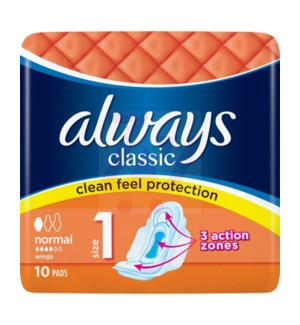 ALWAYS #59268 CLASSIC NORMAL PADS