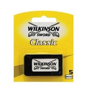 WILKINSON SWORD #11216 BLADE ON CARD