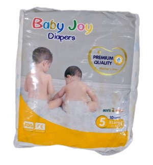 BABY JOY DIAPERS SIZE 5