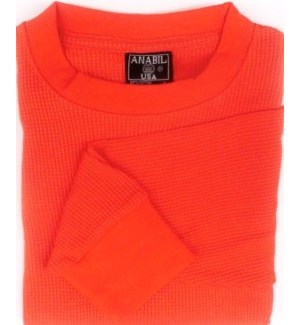 HEAVY THERMAL SHIRTS - ORANGE