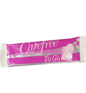 CARE FREE TO GO PAD #1227 LIGHTLY SCENTED
