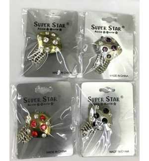 METAL FASHION RINGS #R-1865