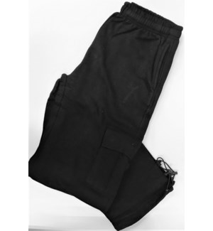 MEN'S PANTS 5 POCKET BLACK